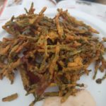 samphire pakora Kricket Wilderness Festival