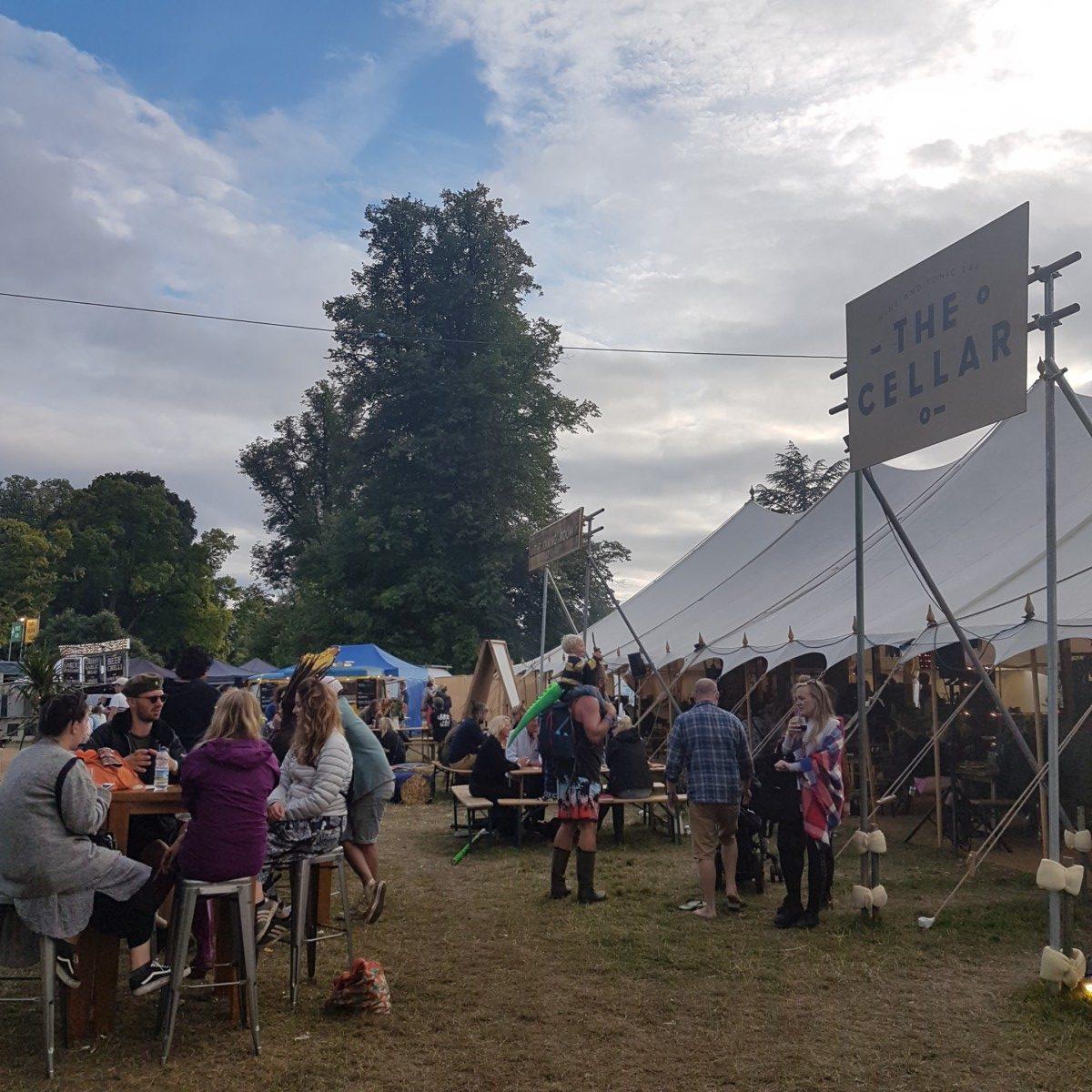 The Cellar wine bar Wilderness Festival