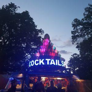 peacock cocktails Wilderness Festival