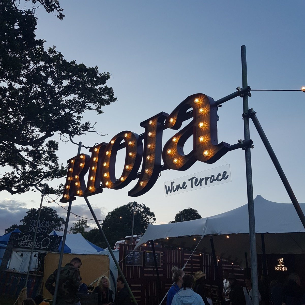 Rioja Wine Terrace Wilderness Festival